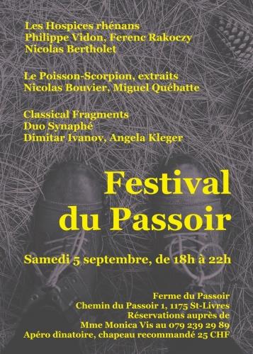 Festival du Passoir, Ferenc Rakoczy, Philippe Vidon, Dimitar Ivanov